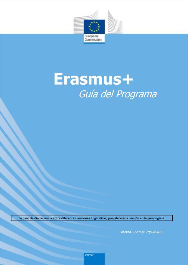 Portada de Erasmus+: guía del programa
