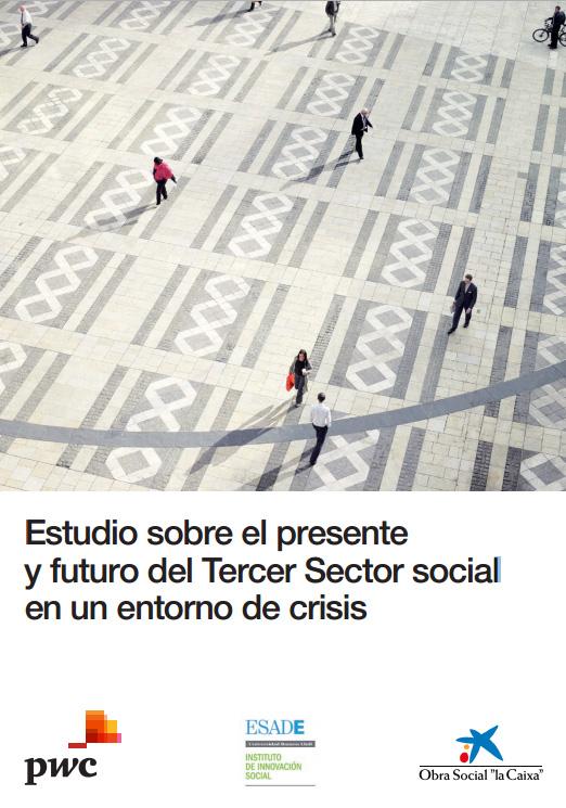 Portada de Estudio sobre el presente y futuro del Tercer Sector social  en un entorno de crisis