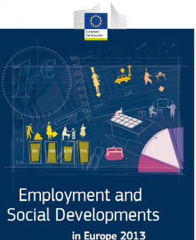 Portada de Employment and social developments in Europe 2013