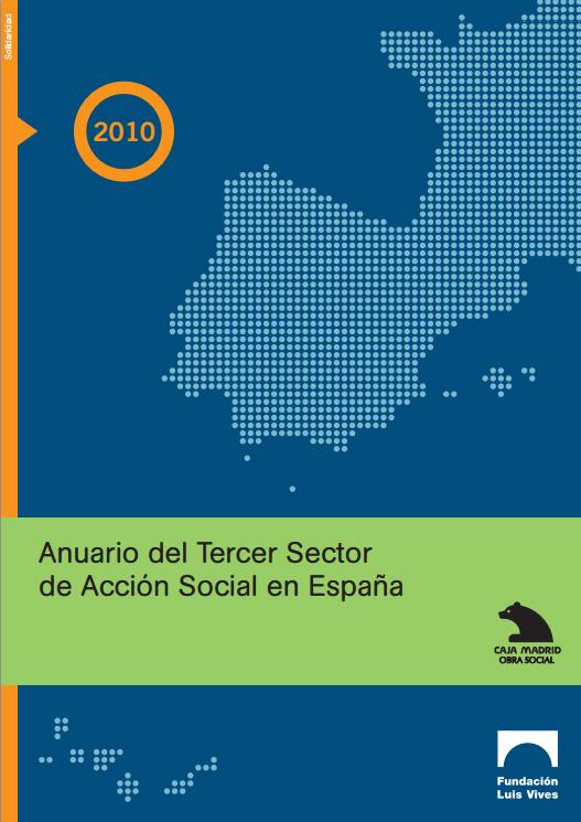 Portada de Anuario del Tercer Sector de Acción Social en España 2010