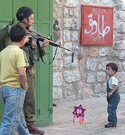 Font: Flickr, nen davant soldat armat