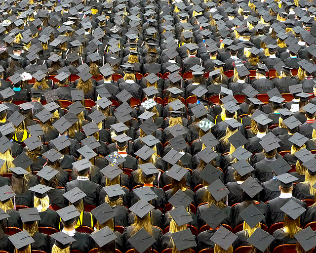 Universitaris al final de la seva formació