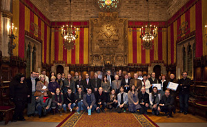 Foto guardonats Premis Ateneus i els Premis Jove Proposa! Fes teu l'Ateneu