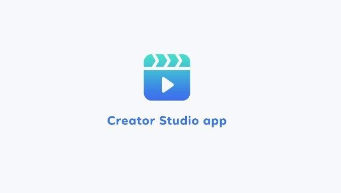 Com funciona l'App de Creator Studio de Facebook? Font: Facebook