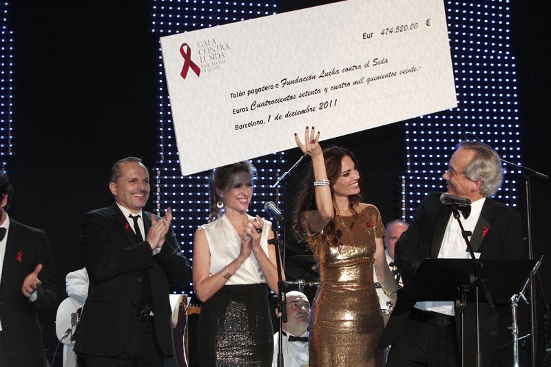 Un moment de la gala de l'any passat. Foto: www.galacontralasida.com