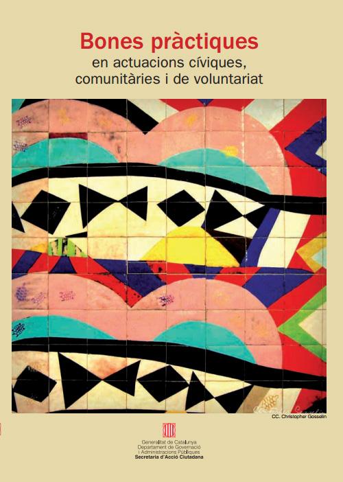 Portada de Bones pràctiques en actuacions cíviques, comunitàries i de voluntariat