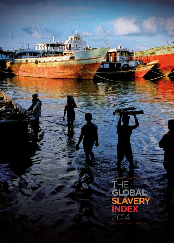 Portada de The global slavery index 2014