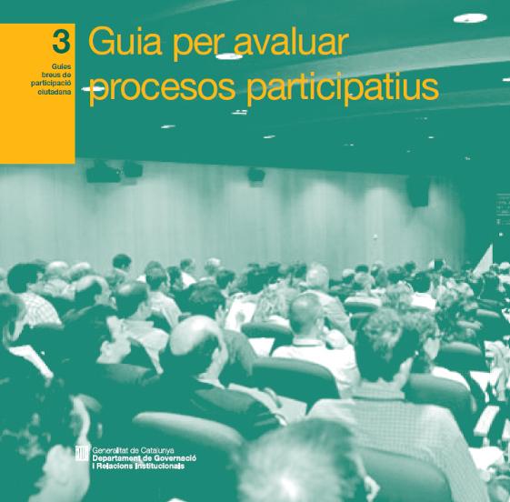 Guia per avaluar processos participatius