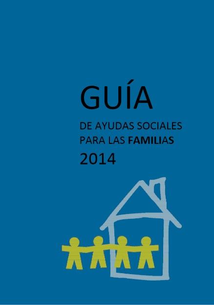 Portada de Guía de Ayudas Sociales para las Familias 2014