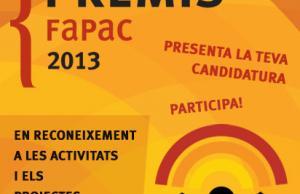 Imatge de la notícia Premis FAPAC 2013