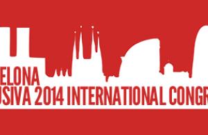 Logotip del 1er Congrés Internacional Barcelona Inclusiva