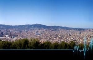 Panoràmica de Barcelona.