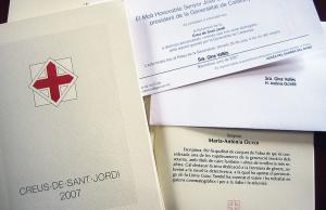 Imatge de la notícia La Creu de Sant Jordi 2014 reconeix a 27 persones i 15 entitats