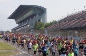 Mulla't i Corre per l'esclerosi múltiple al Circuit de Catalunya