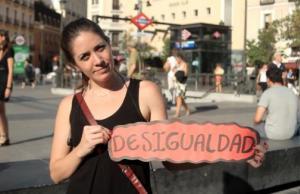 Desigualtat. Fotograma del vídeo del projecte Avizor