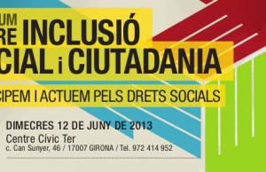3r Fòrum sobre Inclusió Social i Ciutadania