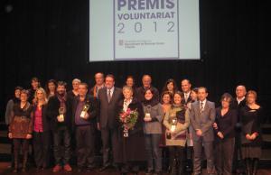 Guanyadors dels XX Premis Voluntariat