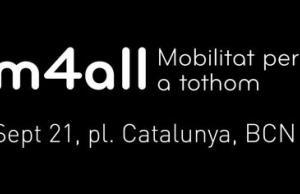 Logotip de m4all, mobilitat per a tothom