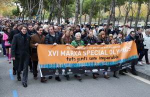 Marxa Special Olympics del dia 24 de novembre de 2013