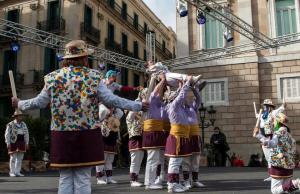 Imatge de la notícia Barcelona estrena la primera moixiganga de la seva història