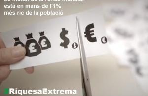 Riquesa Extrema. Font: OxfamIntermón