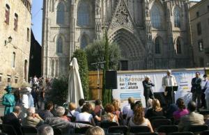 Imatge de la notícia Es busquen esplais i caus per ser ambaixadors de la Setmana del Llibre en Català