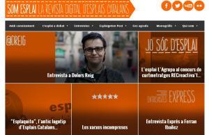 Imatge de la notícia Neix SomEsplai.Cat, la revista digital d'Esplais   Catalans