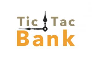 Logotip de Tic Tac Bank