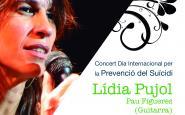 Cartell concert Dia internacional per la prevenció del suïcidi