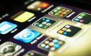 Apps en un terminal mòbil. Fotografia de l'usuari Flickr Daniel Go.