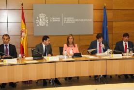 10/07/2012 - Reunion de la Conferencia Sectorial de Asuntos Sociales.