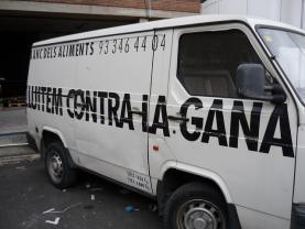 Lluitem contra la gana. Font: Barcelona.cat (Flickr)
