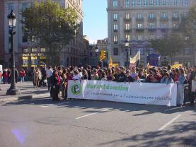 L'any 2006 una Marxa ja va reivindicar el treball de l'associacionisme educatiu