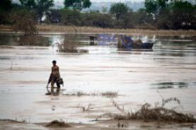 Imatges de les inundacions a Pakistan