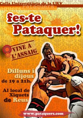 Cartell promocional Pataquers