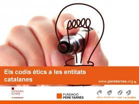 """Diapositiva de l'estudi """"Els codis ètics a les entitats catalanes"""""""