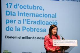 Signat el Compromís del 17 d'octubre contra l'exclusió social