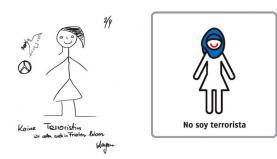 treball d'iconografia de migrantas www.migrantas.org