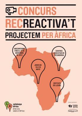 "Concurs ""Recreactiva't: projectem per Àfrica"""