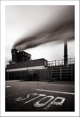 Fums emesos per una fàbrica, exreta de flickr