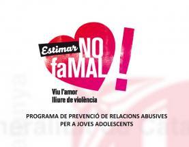 Imatge de la campanya Estimar no fa mal!