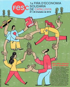 Portada de la revista de la 1a Fira d'Economia Solidària de Catalunya