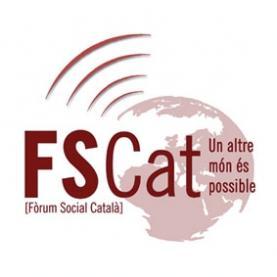 """Contra la """"seva"""" crisi, les """"nostres solucions, un dels lemes del FSCat."""