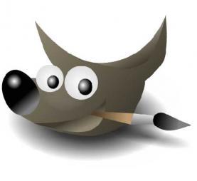 El logotip del GIMP