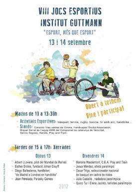 Programa dels VIII Jocs Esportius