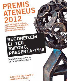 Imatge dels Premis - Web de la Federació d'Ateneus de Catalunya