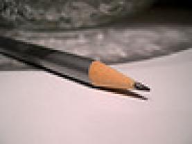 Fotografia d'un llapis. Extreta de la galeria de Arquera a Flickr.