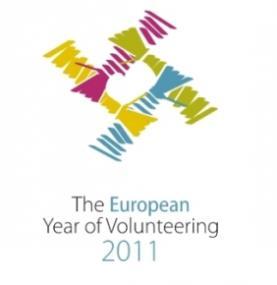 Logo del Año Europeo del Voluntariado