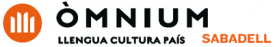 Logotip Òmnium Cultural Sabadell