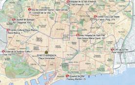 Nou rutes simultànies per tot Barcelona